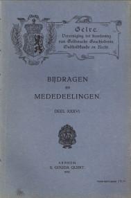 - Bijdragen en Mededeelingen deel XXXVI Gelre, Vereeniging tot Beoefening van Geldersche geschiedenis, oudheidkunde en recht