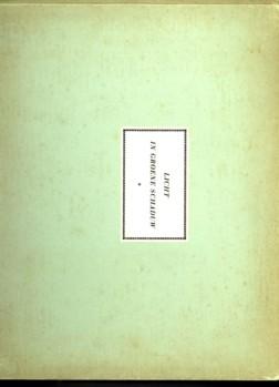 Afbeelding van tweedehands boek: CITROEN, PAUL-Licht in groene schaduw. Poëzie en proza bij teekeningen van Paul Citroen
