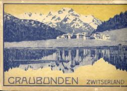 - Graubünden. Ter herinnering aan de voltooiing der electrificeering van alle smalspoorwegen (400 km) en aan den bouw der grootste electriciteitswerken in Graubünden