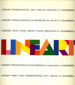 - Lineart Gent Gand Ghent Gante Belgium 3-7 november 1988 / Lineart International Art fair 20th century 3-7 November 1988 / Lineart Internationale Kunstbeurs 20e eeuw 3-7 november 1988 / Lineart Internationale Kunstmesse 20. Jahrhundert 3-7 Novembeer 1988