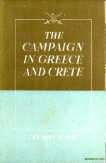 - The campaign in Greece and Crete