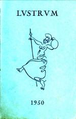 - Lvstrvm, 1950,. Programma der feestelijkheden georganiseerd door het Leidsche Studenten Corps ter gelegenheid van het 375-jarig bestaan der Rijksuniversiteit te Leiden