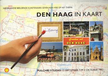 - Nederlandse beeldende kunstenaars geven hun visie op het thema: Den Haag in kaart