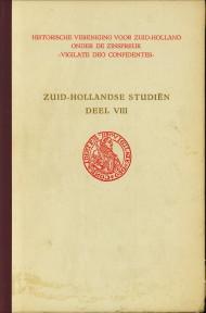 - Zuid-Hollandse Studië deel VIII