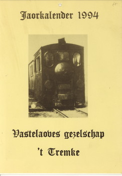 - Jaorkalender 1994 Vatelaoves gezelschap 't Tremke