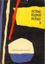 - SchriKunstSchri. Ein Almanach für alter und neuer Kunst. Fünfter Band
