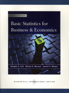 Basic Statistics for Business and Economics 8th Edition by ...