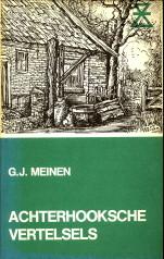 Afbeelding van tweedehands boek: MEINEN, G.J-Achterhooksche vertelsels. Een keuze uit: