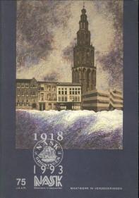 Afbeelding van tweedehands boek: VERHOOG, JEROEN / VERHOOG EN WARMERDAM (TEKST EN SAMENSTELLING)-75 Jaar maatwerk in verzekeringen. BV Nask 1918 - 1993