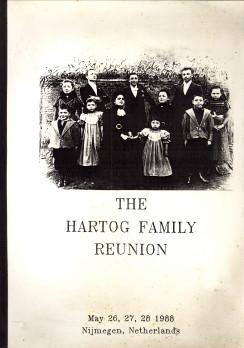 - The Hartog family Reunion, May 26, 27, 28 1988