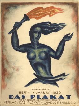 - Das Plakat. Zeitschrift des Vereins der Plakatfreunde E.V. für Kunst in der Reklame 11. Jahrgang Heft 1, Januar 1920 Hannoverheft