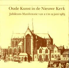 Afbeelding van tweedehands boek: -Oude kunst in de Nieuwe kerk