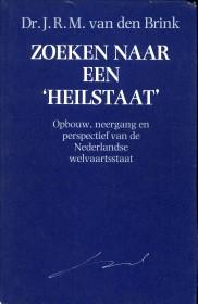 Afbeelding van tweedehands boek: BRINK, DR. J.R.M. VAN DEN-Zoeken naar een