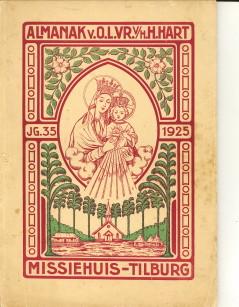 - Almanak van O.L. Vrouw van het H. Hart 1925. Vijf-en-dertigste jaargang