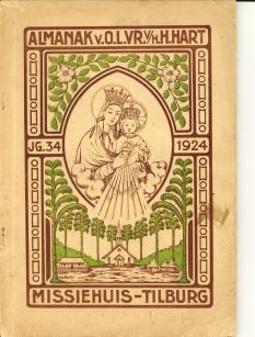 - Almanak van O.L. Vrouw van het H. Hart 1924. Vier-en-dertigste jaargang