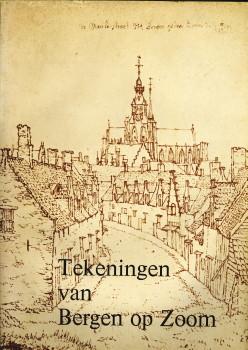 Afbeelding van tweedehands boek: MOSSELVELD, J.H. VAN en HAM, W.A. VAN-Topografische afbeeldingen van Bergen op Zoom en omgeving uit de zestiende tot en met de achttiende eeuw