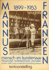 Afbeelding van tweedehands boek: -Mannus Franken. Mensch en Kunstenaar