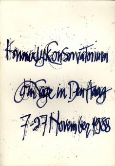 Afbeelding van tweedehands boek: ROSSUM, FRANS VAN-Enige bekende feiten over John Cage, alsmede een lijst van zijn composities, geschriften en beeldende kunst en een aantal werktoelichtingen