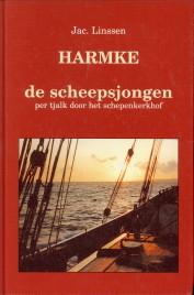 Afbeelding van tweedehands boek: LINSSEN, JAC-Harmke de scheepsjongen. Per tjalk door het schepenkerkhof