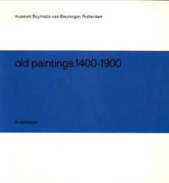 Afbeelding van tweedehands boek: -Old paintings 1400 - 1900