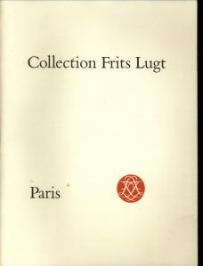 Afbeelding van tweedehands boek: COLLECTION FRITS LUGT-Collection Frits Lugt  Paris