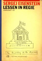 Afbeelding van tweedehands boek: EISENSTEIN, SERGEJ M-Lessen in regie