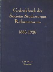 - Gedenkboek der Societas Studiosorum Reformatorum ter gelegenheid van haar 8ste lustrum 1886 - 1926